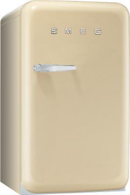 Холодильник с морозильником Smeg FAB10RP - Вид спереди
