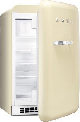 Холодильник с морозильником Smeg FAB10RP - Вид с открытой дверцей