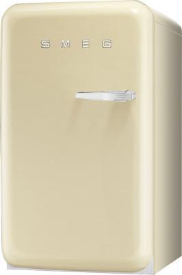 Холодильник с морозильником Smeg FAB10LP - Вид спереди