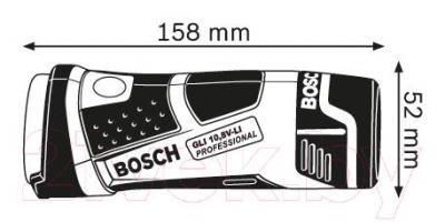 Фонарь Bosch GLI 10.8 V-Li (0.601.437.U00) - схема