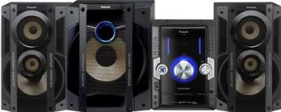 Минисистема Panasonic SC-VKX80EE-K - общий вид