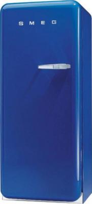 Холодильник с морозильником Smeg FAB28LBL1 - Вид спереди