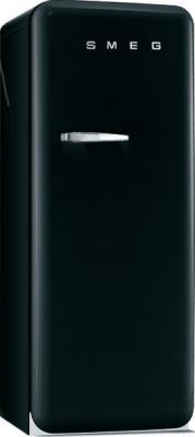 Холодильник с морозильником Smeg FAB28RNE1 - Вид спереди