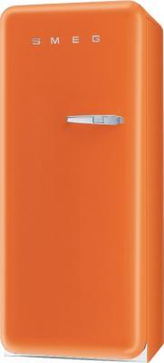 Холодильник с морозильником Smeg FAB28LO1 - Вид спереди