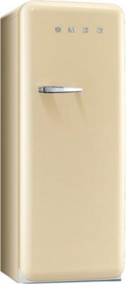 Холодильник с морозильником Smeg FAB28RP1 - Вид спереди