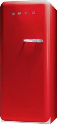 Холодильник с морозильником Smeg FAB28LR1 - Вид спереди