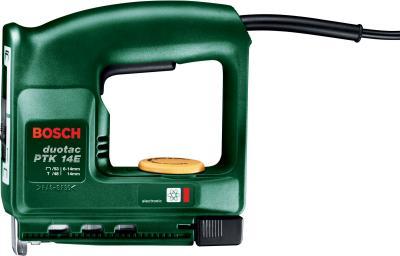 Электрический степлер Bosch PTK 14 E (0.603.265.208) - вид сбоку