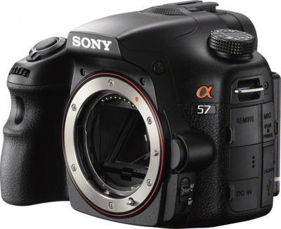 Зеркальный фотоаппарат Sony SLT-A57Y - общий вид