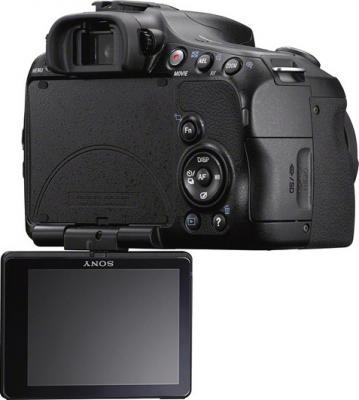 Зеркальный фотоаппарат Sony SLT-A57Y - вид сзади
