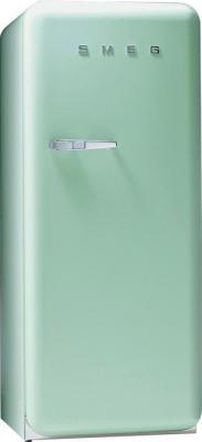 Холодильник с морозильником Smeg FAB28RV1 - Вид спереди