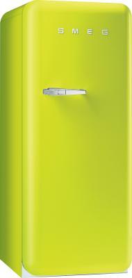 Холодильник с морозильником Smeg FAB28RVE1 - Вид спереди