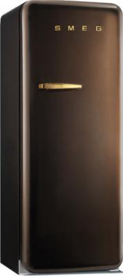 Холодильник с морозильником Smeg FAB28RCG1 - Вид спереди