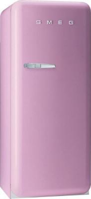 Холодильник с морозильником Smeg FAB28RRO1 - Вид спереди