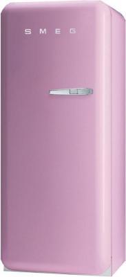 Холодильник с морозильником Smeg FAB28LRO1 - Вид спереди