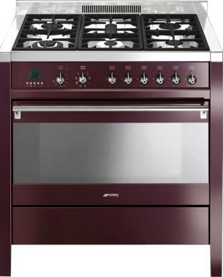 Кухонная плита Smeg CS19RW-7 - общий вид