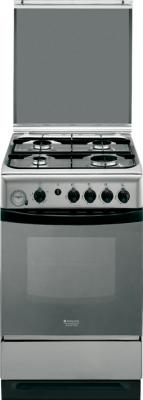 Кухонная плита Hotpoint C 34S G3 (X) R/HA - общий вид