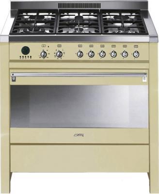Кухонная плита Smeg CS19P-6 - общий вид