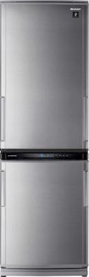 Холодильник с морозильником Sharp SJ-WS360TS - Вид спереди