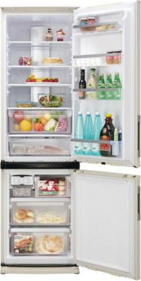 Холодильник с морозильником Sharp SJ-WS360TS - Общий вид