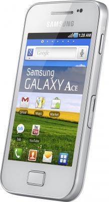 Смартфон Samsung S5830I Galaxy Ace White - общий вид