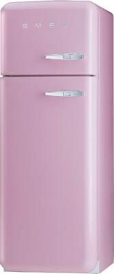 Холодильник с морозильником Smeg FAB30ROS7 - Вид спереди