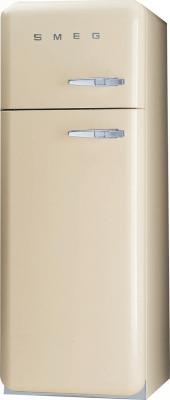 Холодильник с морозильником Smeg FAB30PS7 - Вид спереди