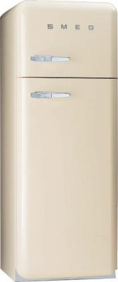 Холодильник с морозильником Smeg FAB30P7 - Вид спереди