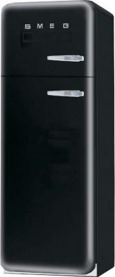 Холодильник с морозильником Smeg FAB30NES7 - Вид спереди