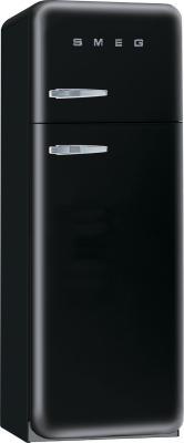Холодильник с морозильником Smeg FAB30NE7 - Вид спереди