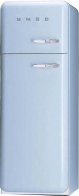 Холодильник с морозильником Smeg FAB30AZS7 - Вид спереди