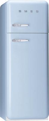 Холодильник с морозильником Smeg FAB30AZ7 - Вид спереди