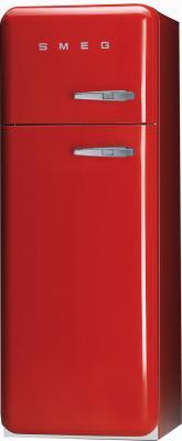 Холодильник с морозильником Smeg FAB30RS7 - Вид спереди