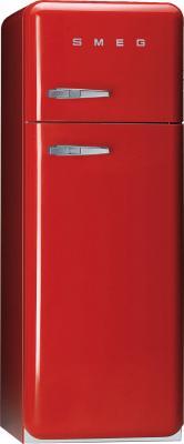 Холодильник с морозильником Smeg FAB30R7 - Вид спереди