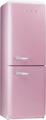 Холодильник с морозильником Smeg FAB32RO7 - Вид спереди