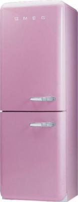 Холодильник с морозильником Smeg FAB32ROS7 - Вид спереди