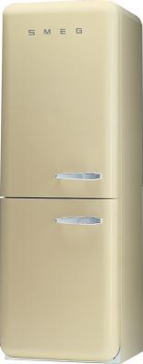 Холодильник с морозильником Smeg FAB32PS7 - Вид спереди
