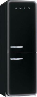 Холодильник с морозильником Smeg FAB32NE7 - Вид спереди