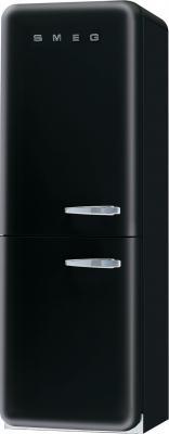 Холодильник с морозильником Smeg FAB32NES7 - Вид спереди