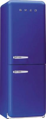 Холодильник с морозильником Smeg FAB32BL7 - Вид спереди