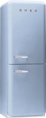 Холодильник с морозильником Smeg FAB32AZ7 - Вид спереди