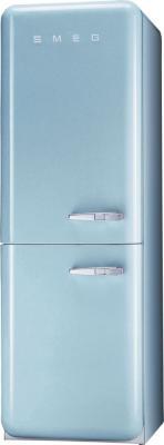 Холодильник с морозильником Smeg FAB32AZS7 - Вид спереди