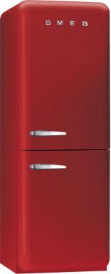 Холодильник с морозильником Smeg FAB32R7 - Вид спереди