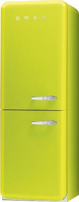 Холодильник с морозильником Smeg FAB32VES7 - Вид спереди