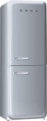 Холодильник с морозильником Smeg FAB32X7 - Вид спереди