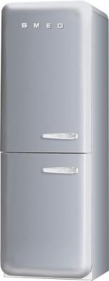 Холодильник с морозильником Smeg FAB32XS7 - Вид спереди