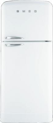Холодильник с морозильником Smeg FAB50B - общий вид