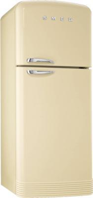 Холодильник с морозильником Smeg FAB50P - общий вид