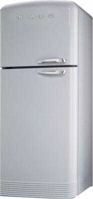 Холодильник с морозильником Smeg FAB50XS - Общий вид