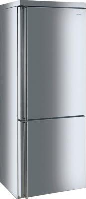 Холодильник с морозильником Smeg FA390X3 - Вид спереди