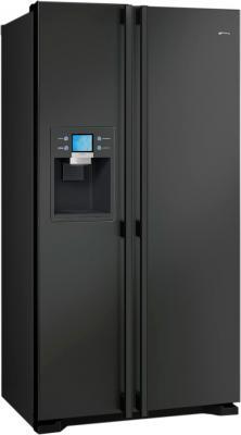 Холодильник с морозильником Smeg SS55PNL1 - Вид спереди